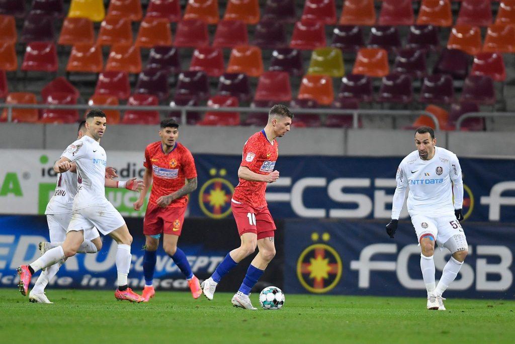 FCSB v CFR Cluj – Liga 1 Romania, Bucharest – 19 Mar 2021