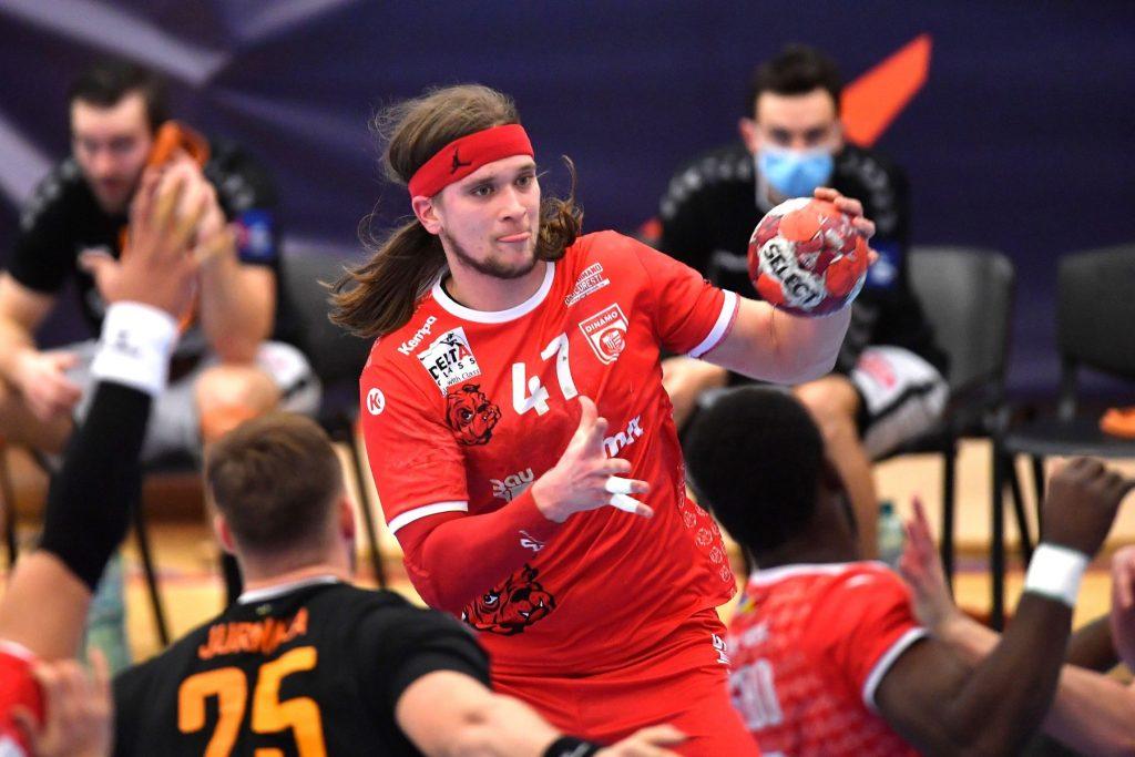 Dinamo Bucharest v IFK Kristianstad handball game, EHF European League, Bucharest, Romania – 16 Feb 2021