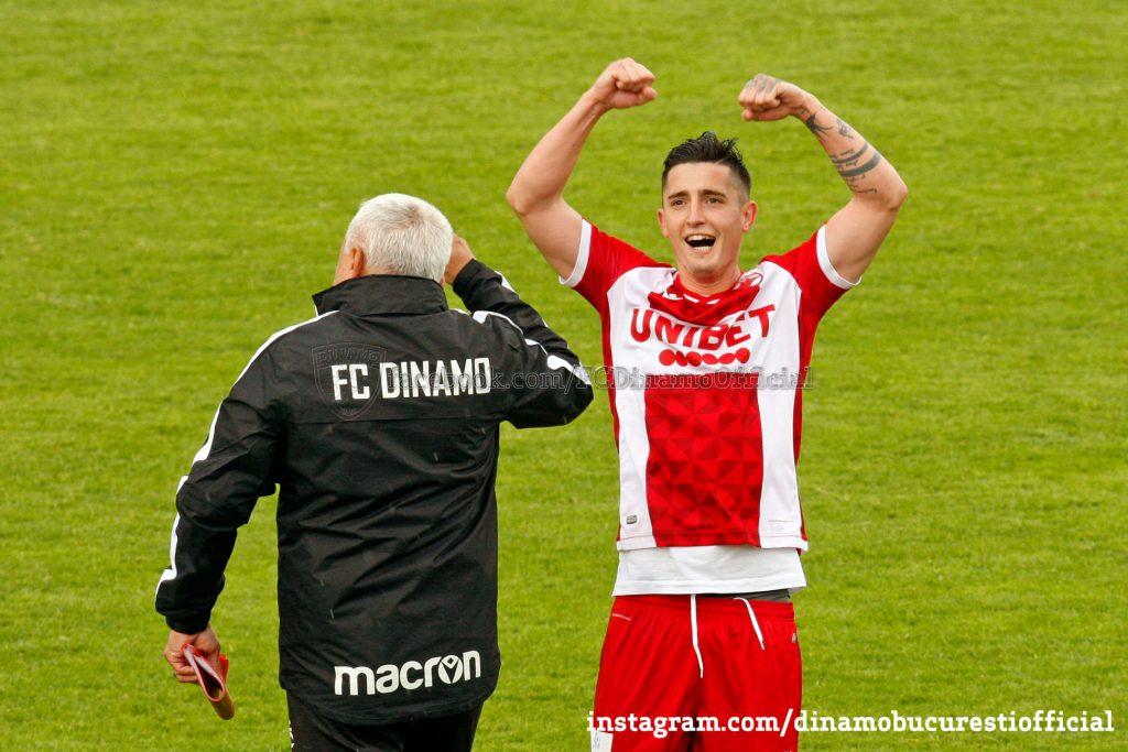 Steliano Filip în tricoul lui Dinamo