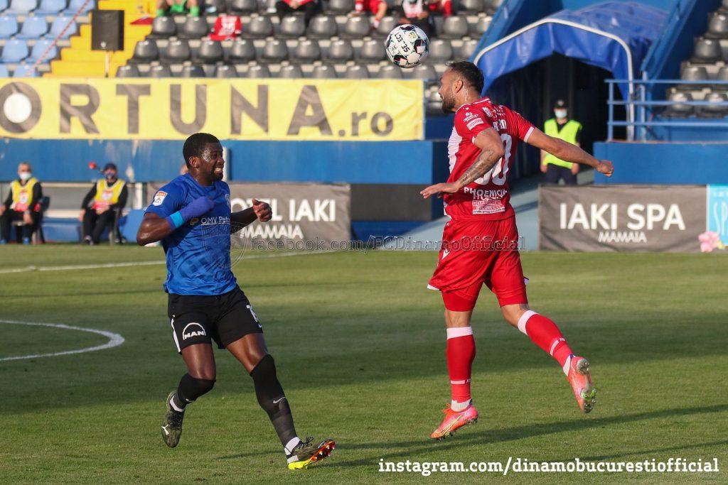 Tsoumou și Bejan (Dinamo – Viitorul)