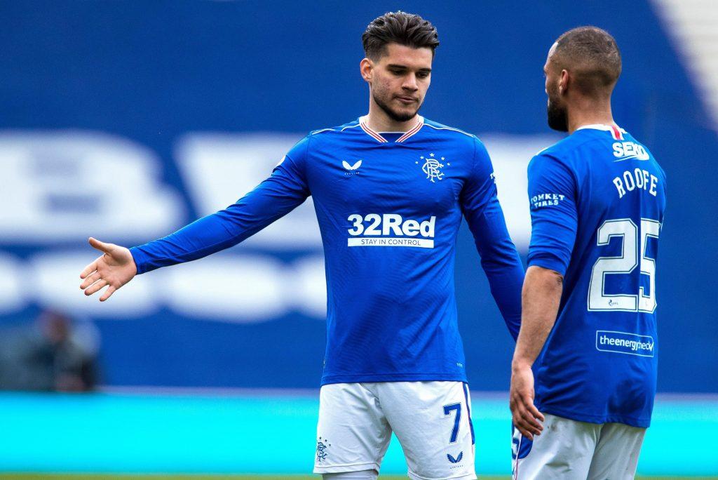 Rangers v Celtic, Scottish Premiership,  Football, Ibrox Stadium, Glasgow, UK – 2 May 2021