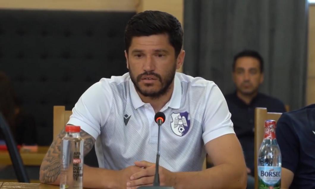 Cristi Tănase, conferință de presă FC Argeș