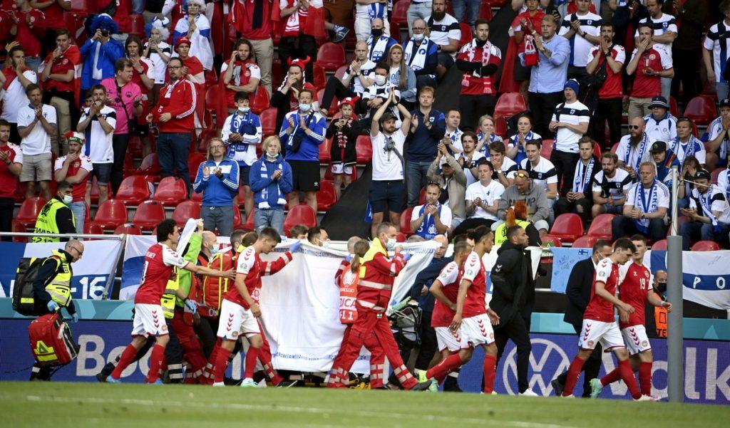 UEFA Euro 2020 football tournament, Finland vs. Denmark, Copenhagen – 12 Jun 2021