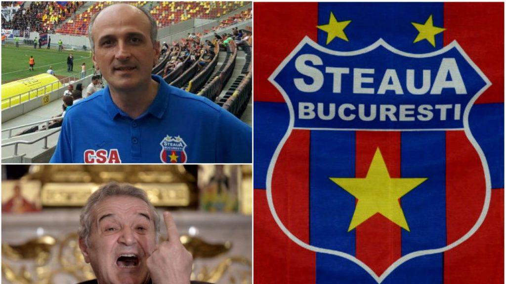 Gigi Becali. Florin Talpan, Steaua