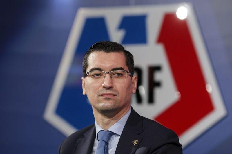 Răzvan Burleanu, președintele FRF
