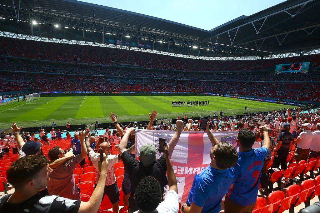 England v Croatia, UEFA European Championship 2020, Group D, Football, Wembley Stadium, London, UK – 13 June 2021