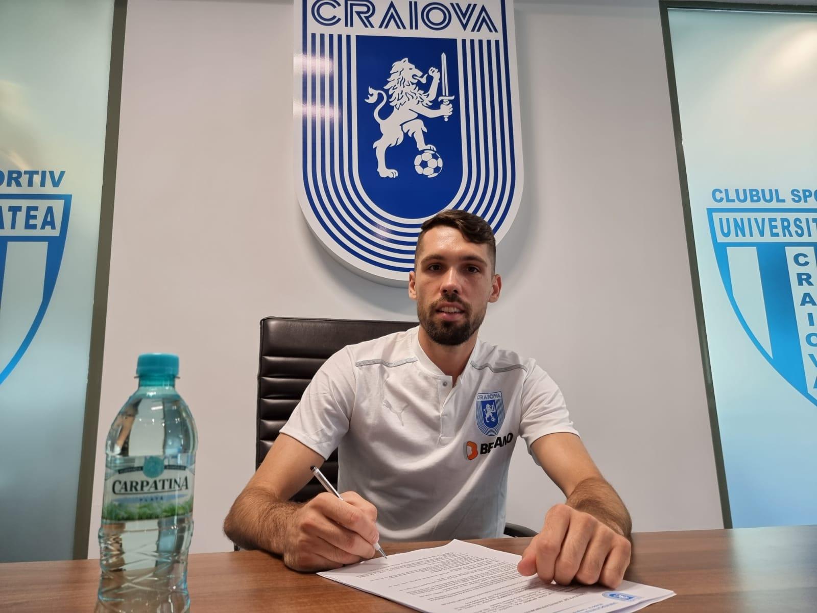 Valerică Găman, noul jucător de la CSU Craiova
