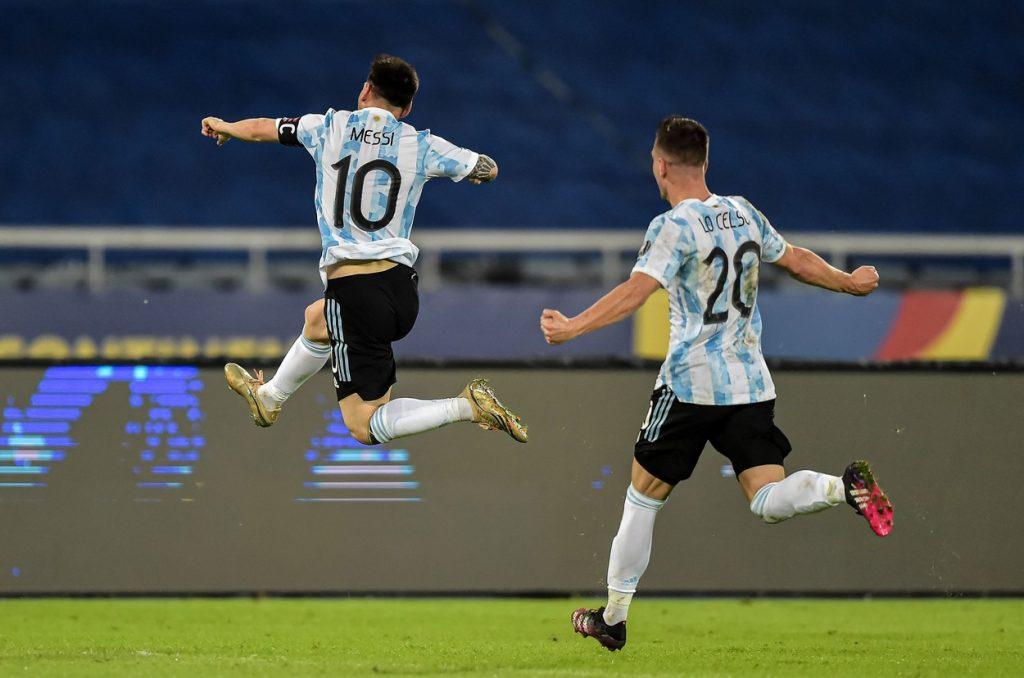 Argentina v Chile: Group A – Copa America Brazil 2021, Rio De Janeiro – 14 Jun 2021