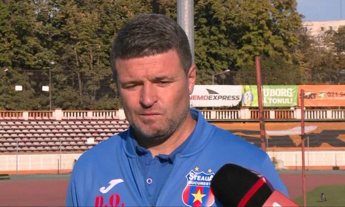 Daniel Oprița, antrenor Steaua
