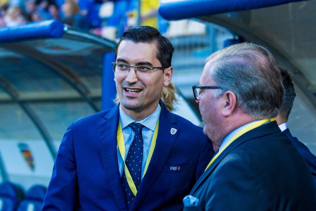 June 5, 2018: Razvan Burleanu – the President of the Romanian Football Federation during the International Friendly Match – Romania vs. Finland at Ilie Oana Stadium in Ploiesti, Romania ROU. Copyright: Cronos/Catalin Soare