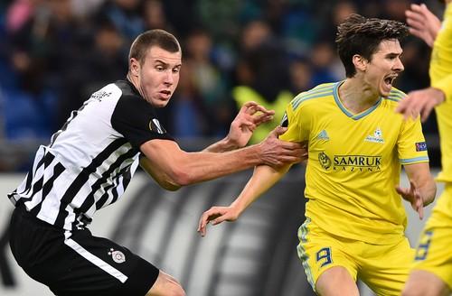 Kazakhstan Soccer Europa League Astana – Partizan