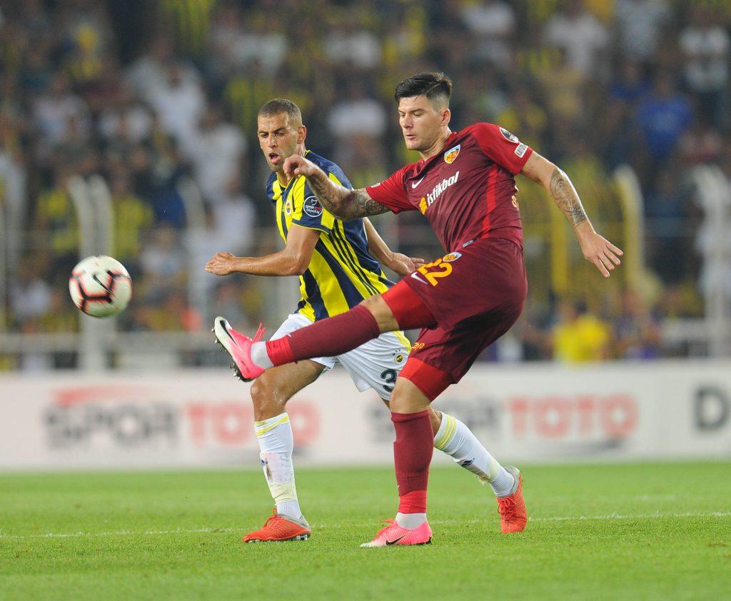 Turkish Superlig Match between Fenerbahce and Kayserispor