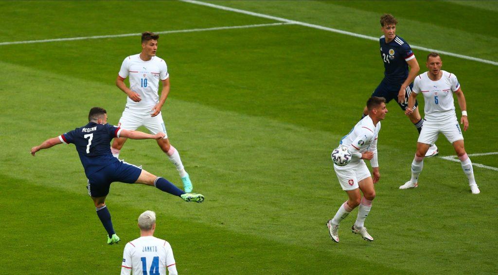 Scotland v Czech Republic, UEFA European Championship 2020, Group D football match, Hampden Park, Glasgow, Scotland, UK – 14 June 2021