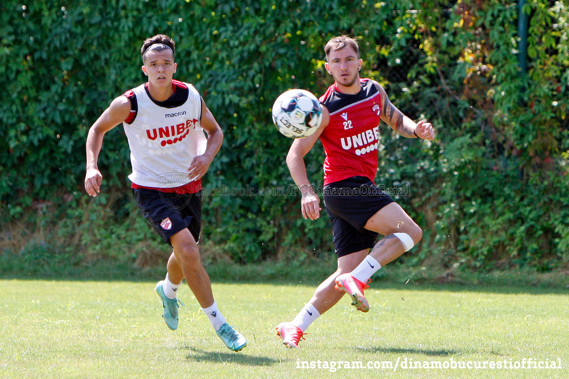 Deian Sorescu – antrenamente, sursa foto: Dinamo/Facebook