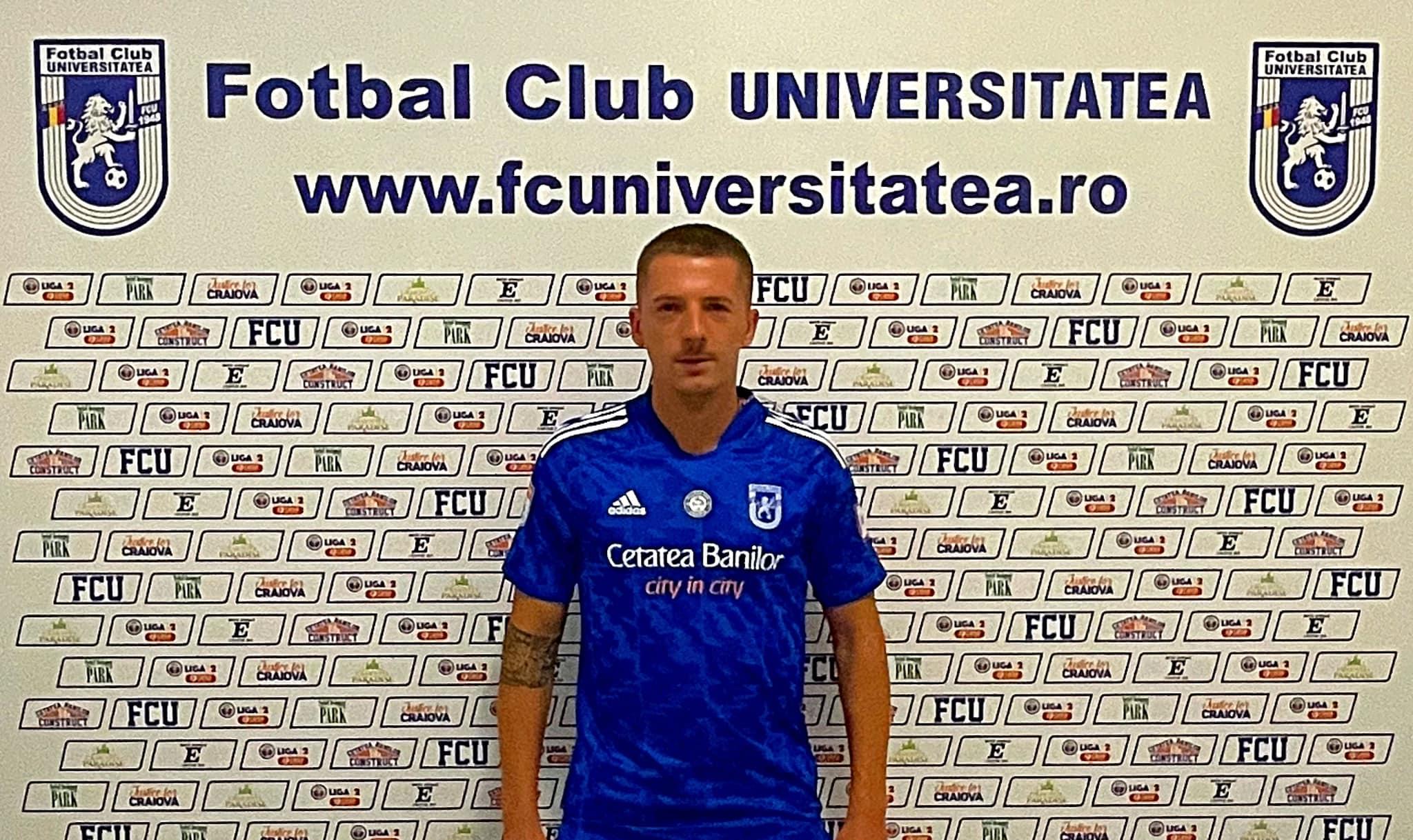 Vlad Achim, FC U Craiova