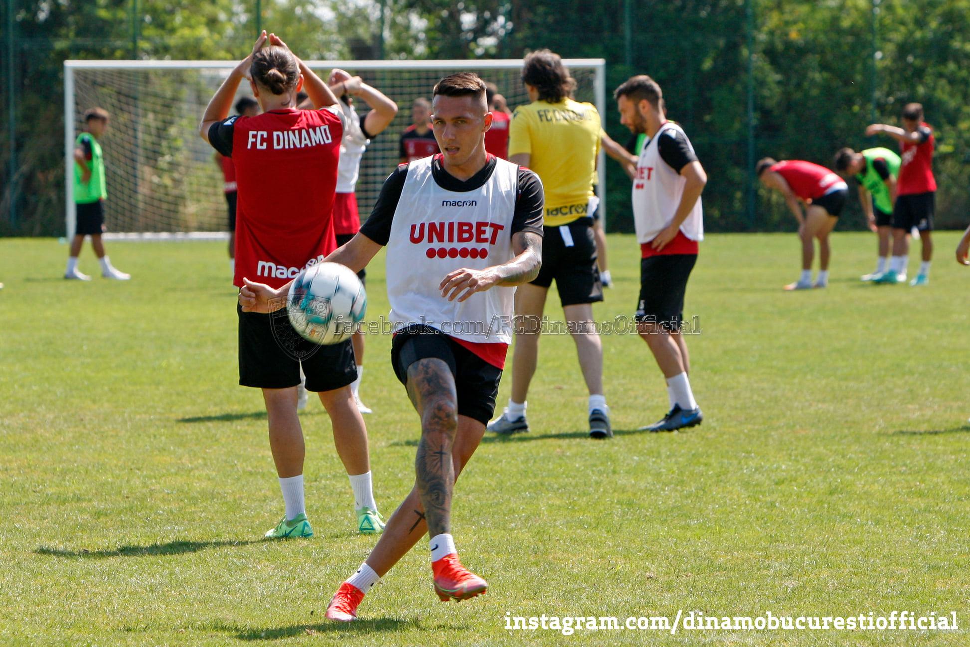 Dinamo – antrenamente, sursa foto: Dinamo/Facebook