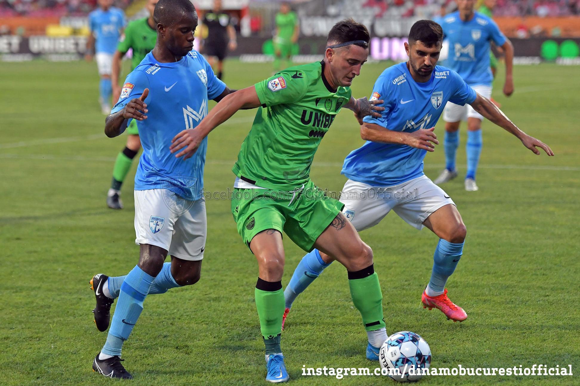 Steliano Filip, sursa foto: Dinamo/Facebook