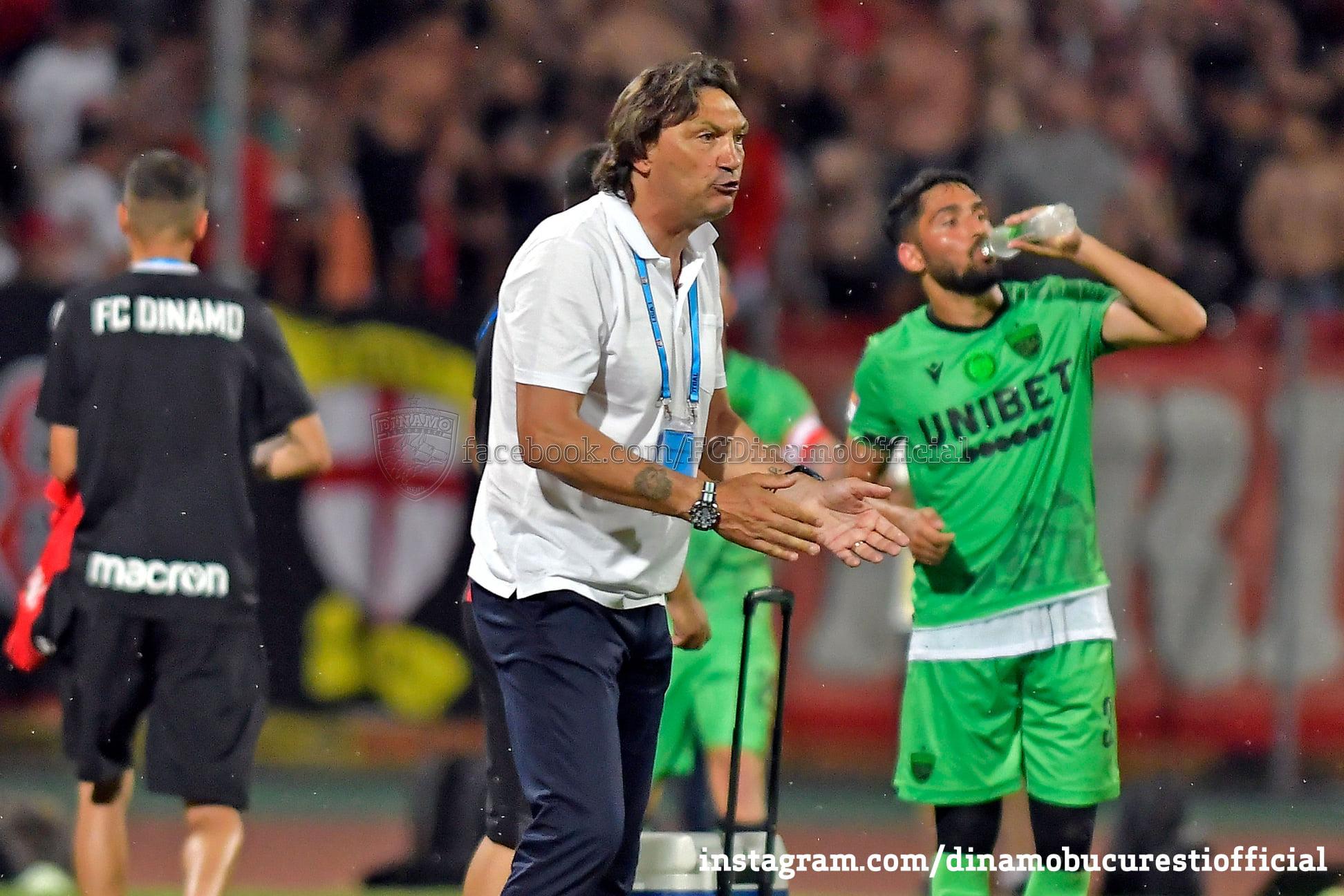 Dario Bonetti, sursa foto: Dinamo/Facebook
