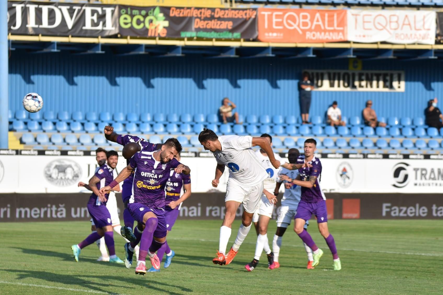 Gaz Metan – FC Argeș, sursa foto: Gaz Metan/Facebook