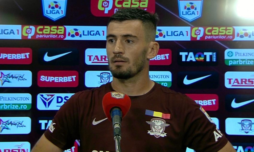 Adrian Bălan, Rapid/Sursa foto: Captură Digi Sport