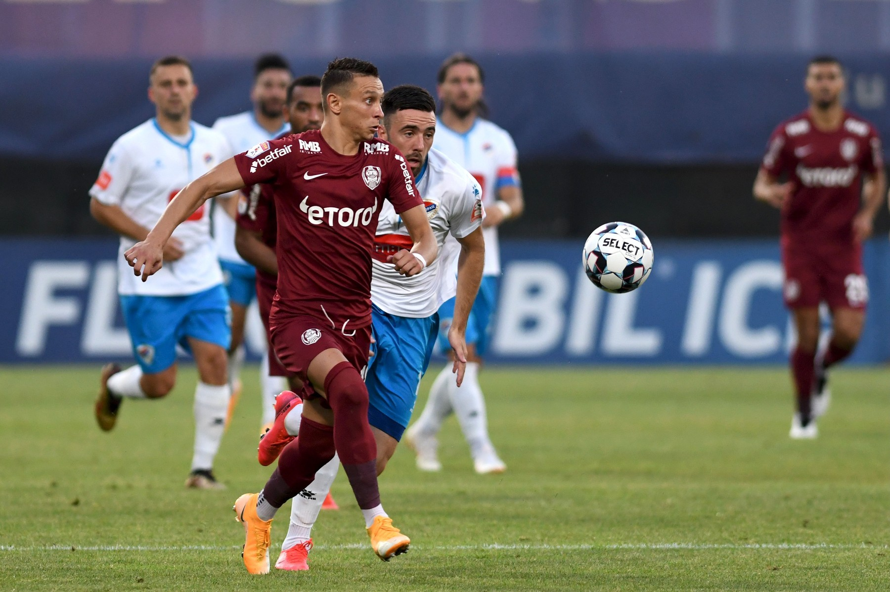 CFR Cluj v FK Borac Banja Luka/Sursa foto: Profimedia Images