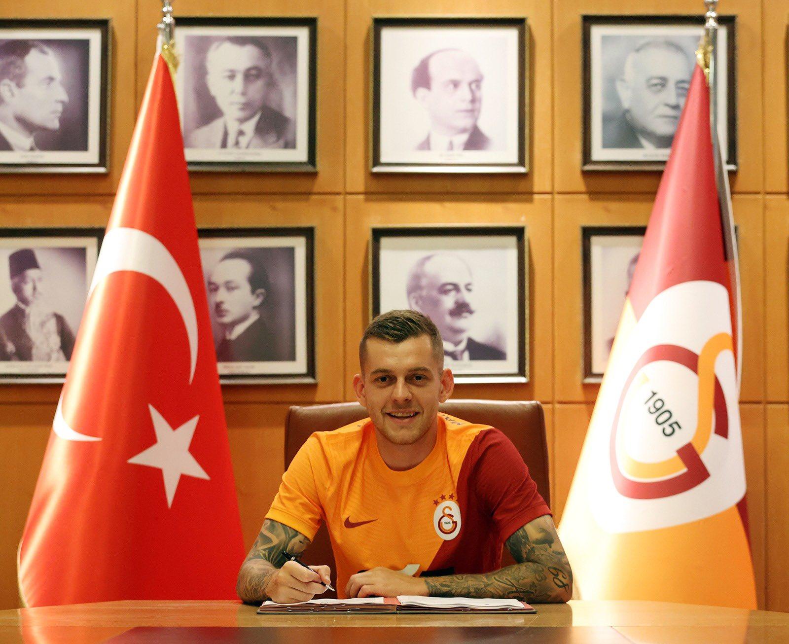 Alexandru Cicâldău, prezentat oficial la Galatasaray