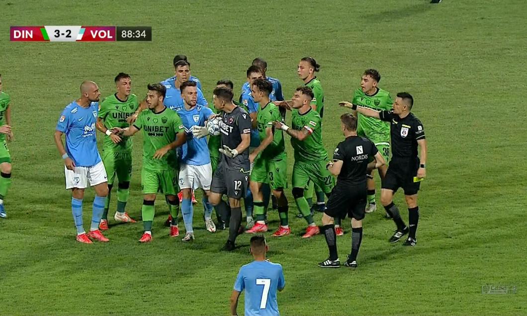 Dinamo – FC Voluntari, gol anulat