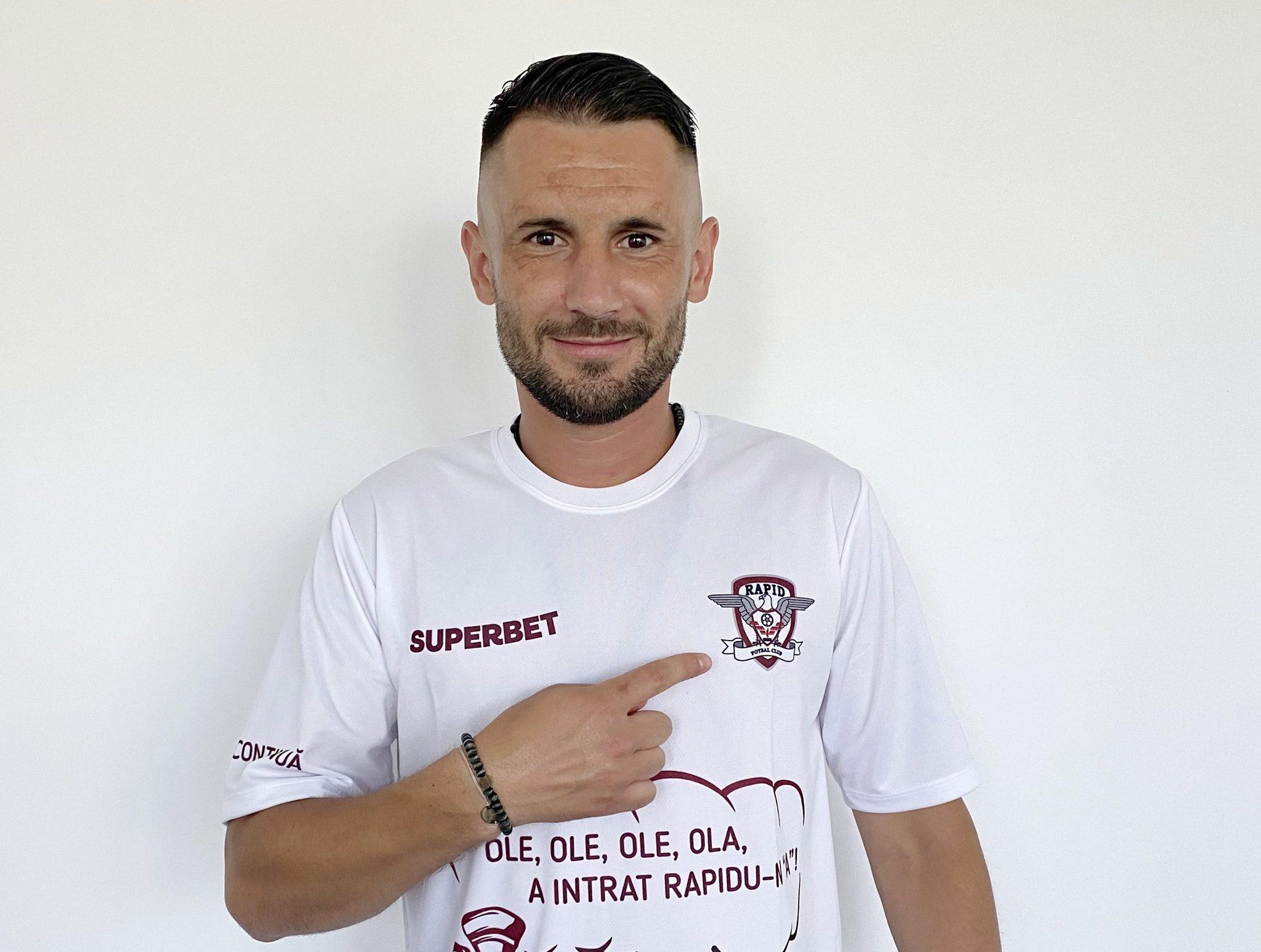 Dragos Grigore, Rapid