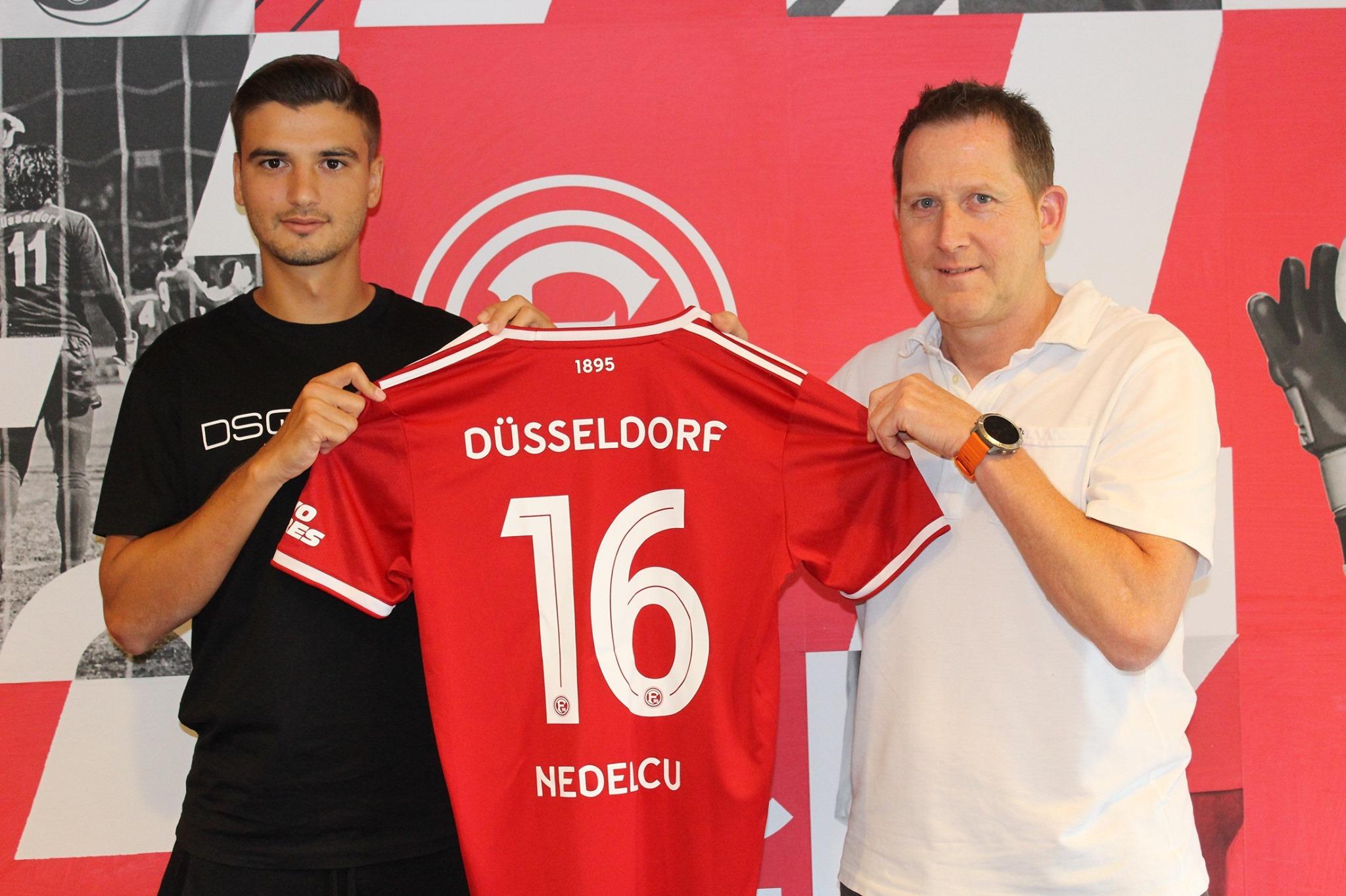 Dragos Nedelcu, prezentat oficial la Fortuna Dusseldorf