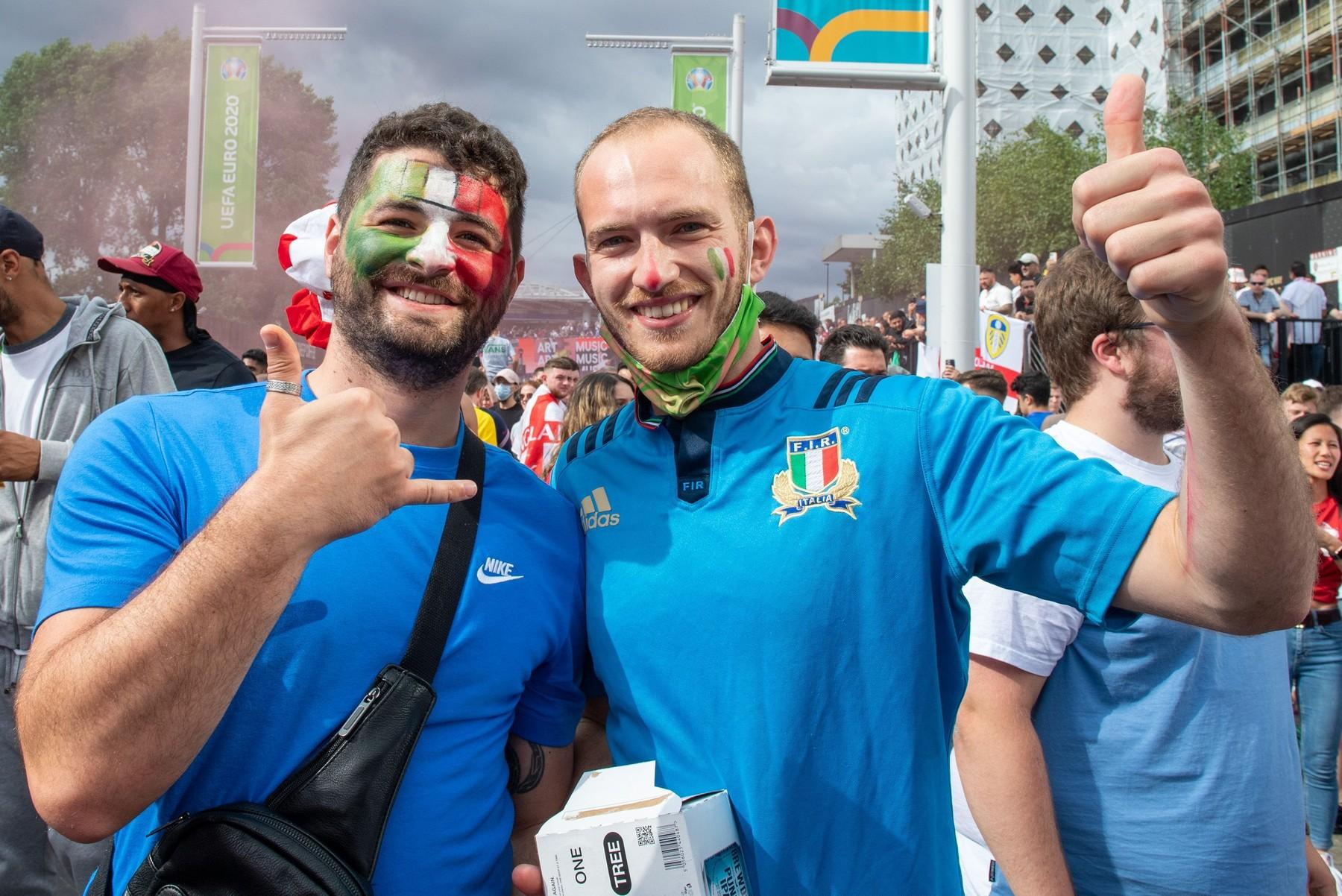 Suporterii Italiei/Sursa foto: Profimedia Images
