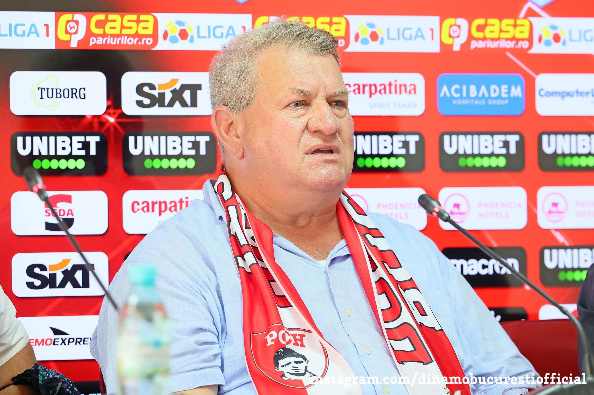 Iuliu Mureşan, Dinamo