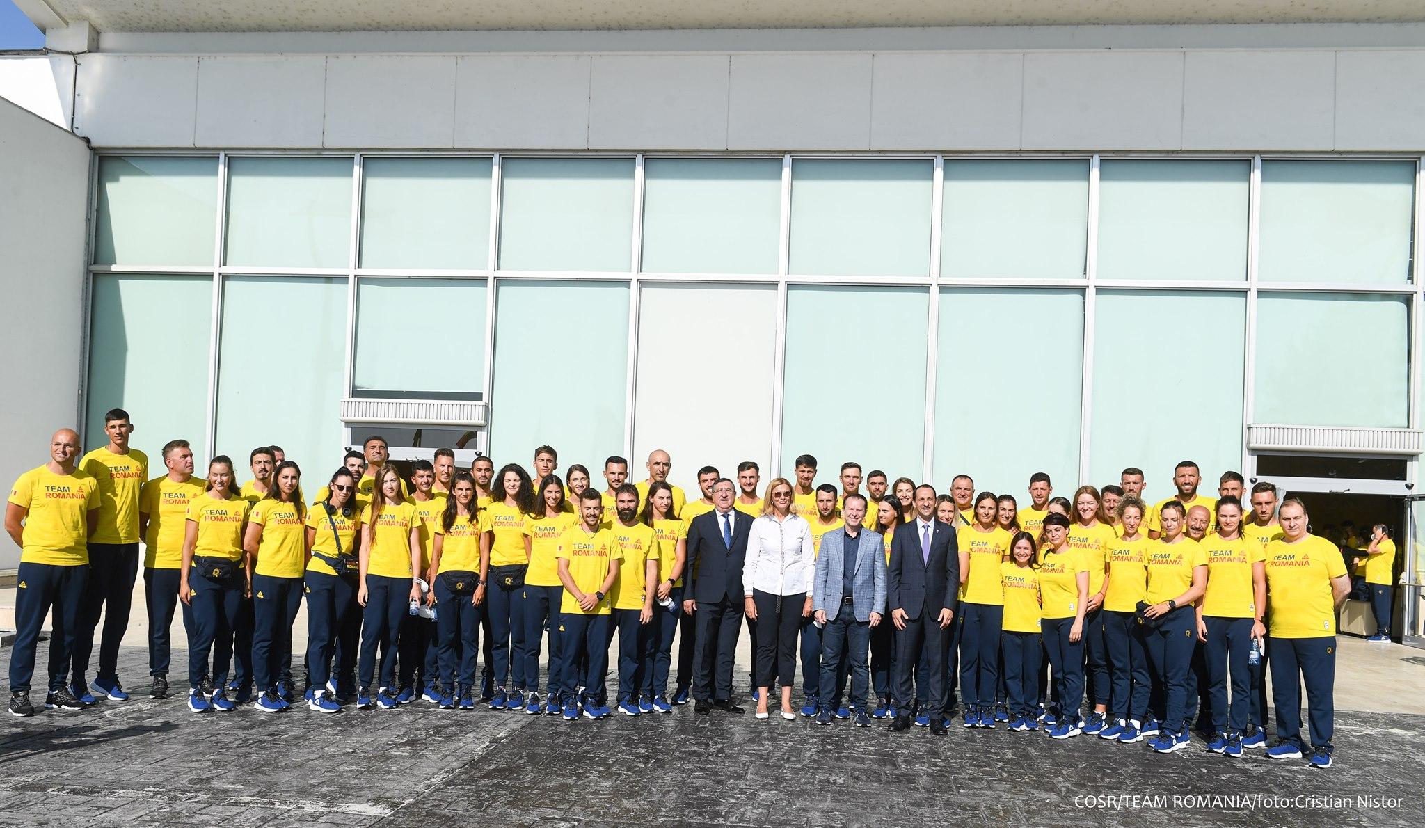 Sportivi români la JO de la Tokyo, sursa foto: COSR/Facebook