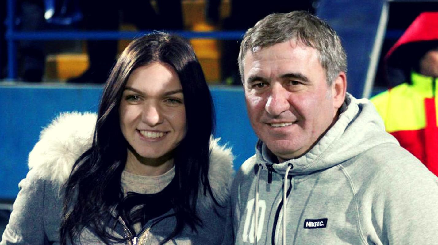 Simona Halep şi Gică Hagi