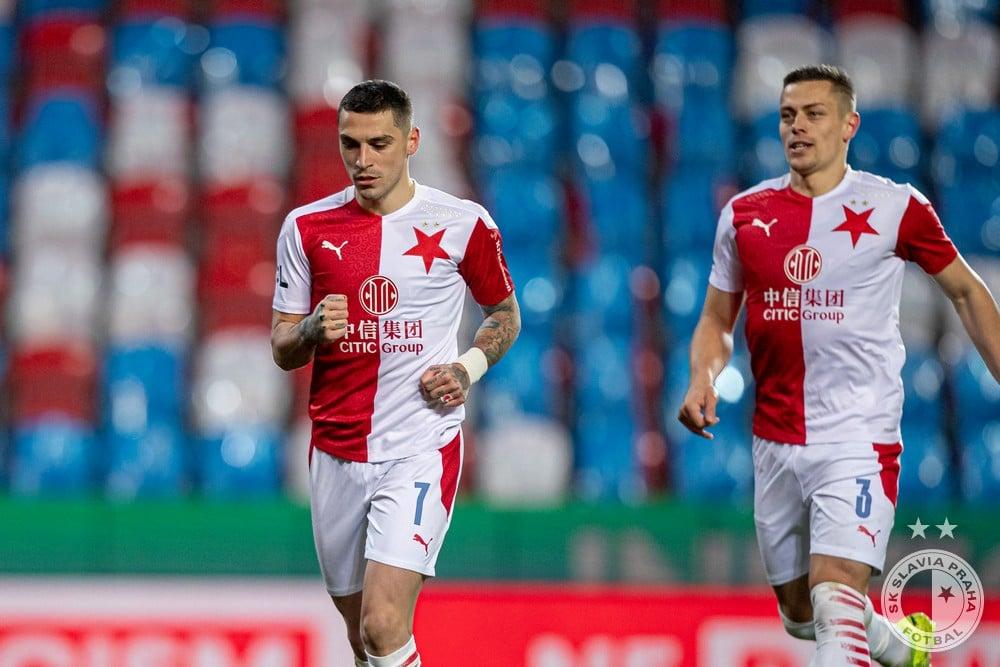 Nicusor Stanciu, sursa foto Slavia Praga/Facebook