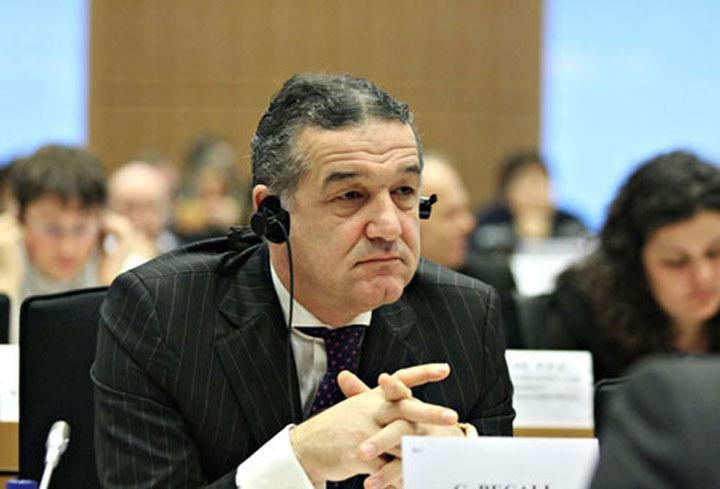 Gigi Becali, în Parlamentul European