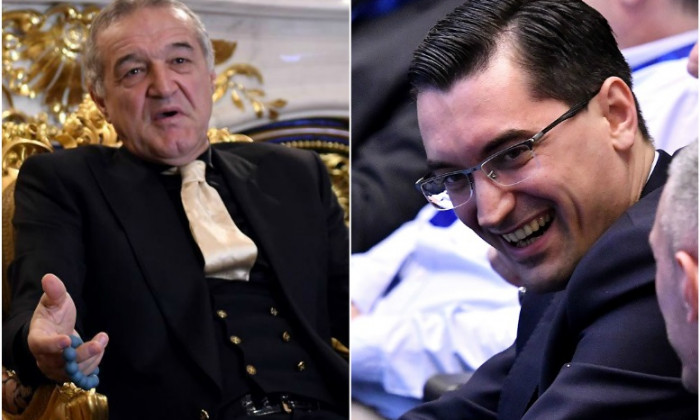 Gigi Becali și Răzvan Burleanu