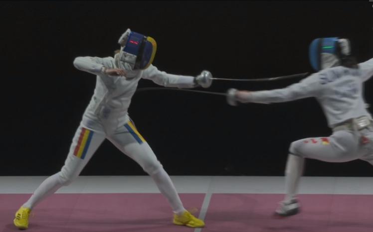 Ana Maria Popescu, argint la Jocurile Olimpice, Tokyo 2020, sursa foto: captura foto