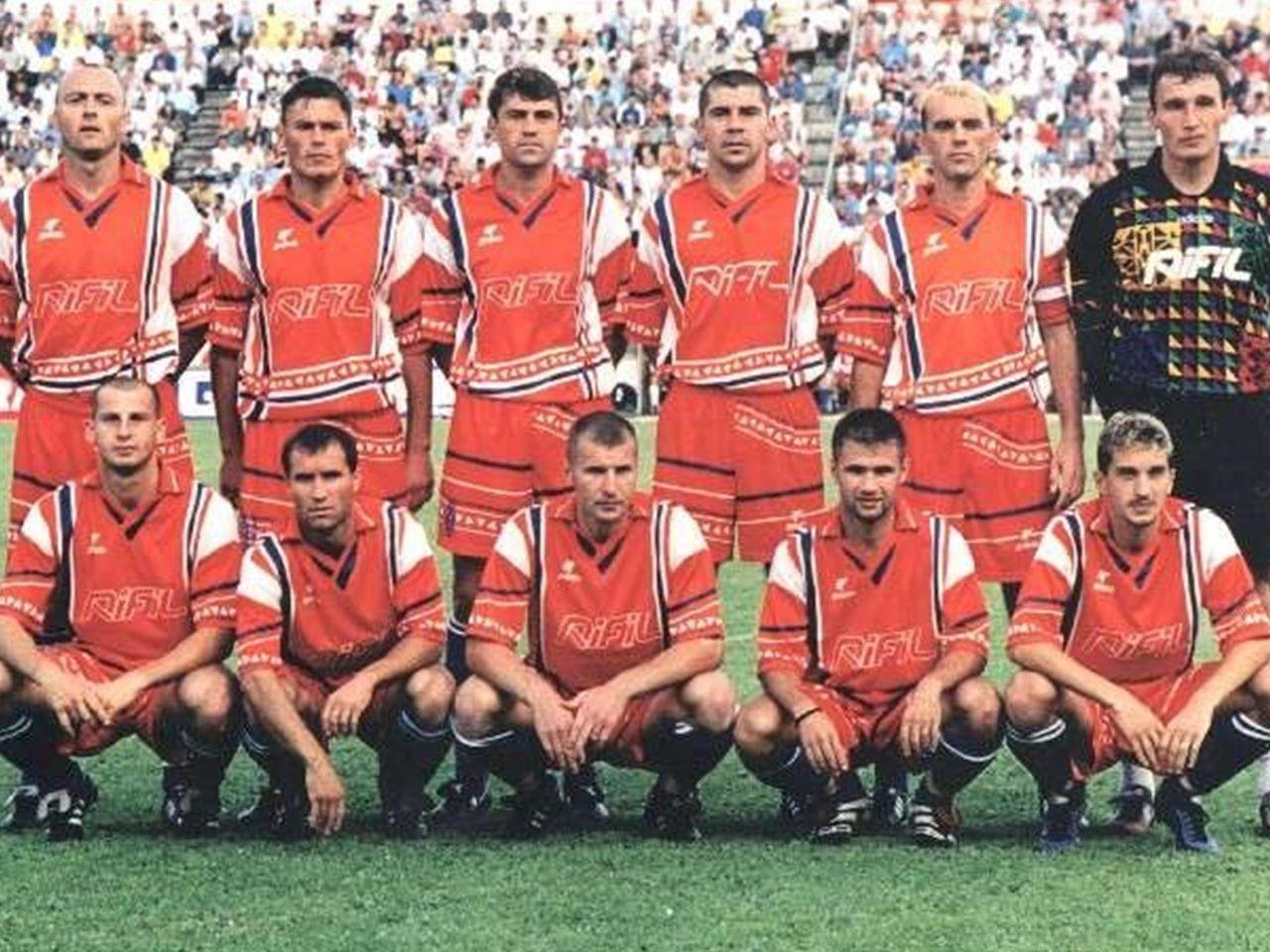 Ceahlăul – Juventus(1-1) în cupa UEFA Intertoto, iulie 1999