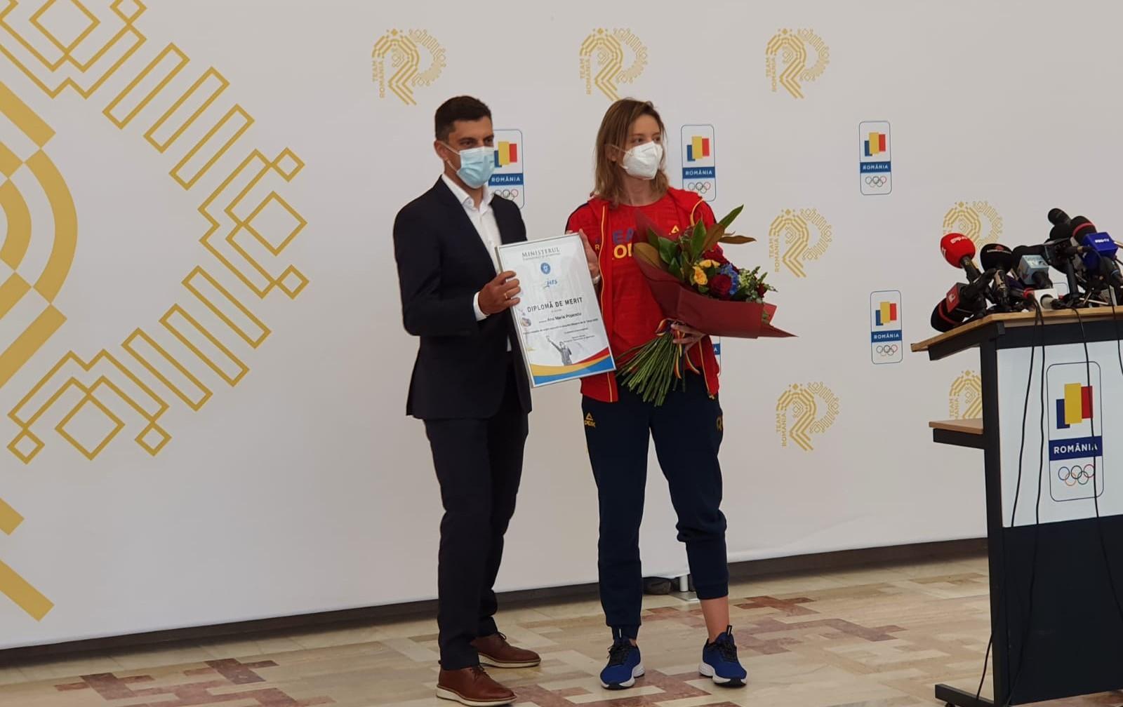 Eduard Novak şi Ana Maria Popescu