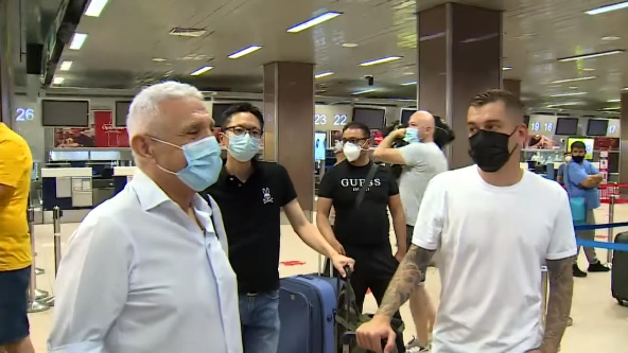 Alex Cicâldău și Giovanni Becali, sursa foto: PROSPORT