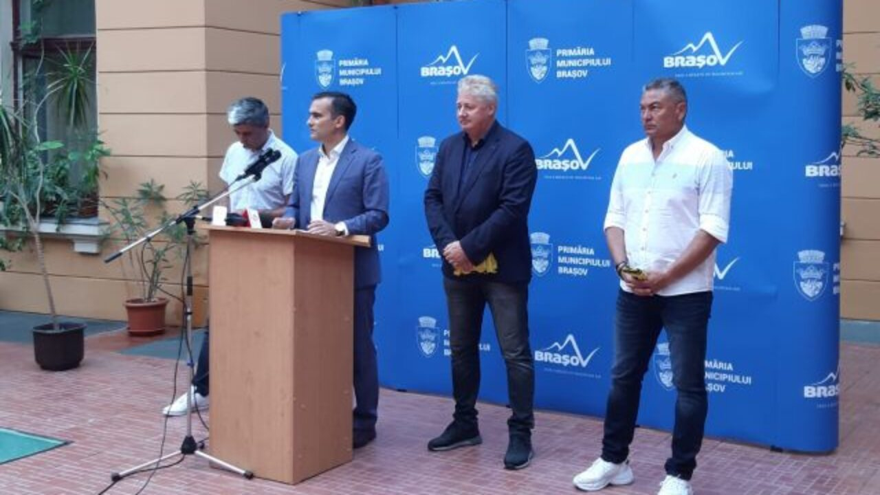 Noua conducere a FC Brașov a fost prezentată astăzi
