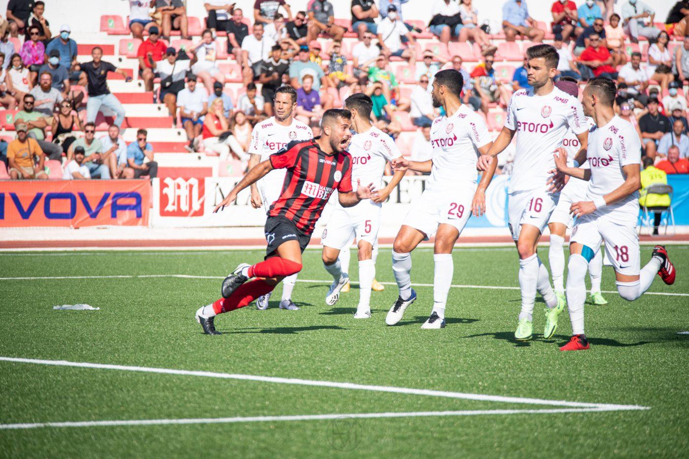 Lincoln-CFR Cluj 1-2. Sursă foto: Pro Sport