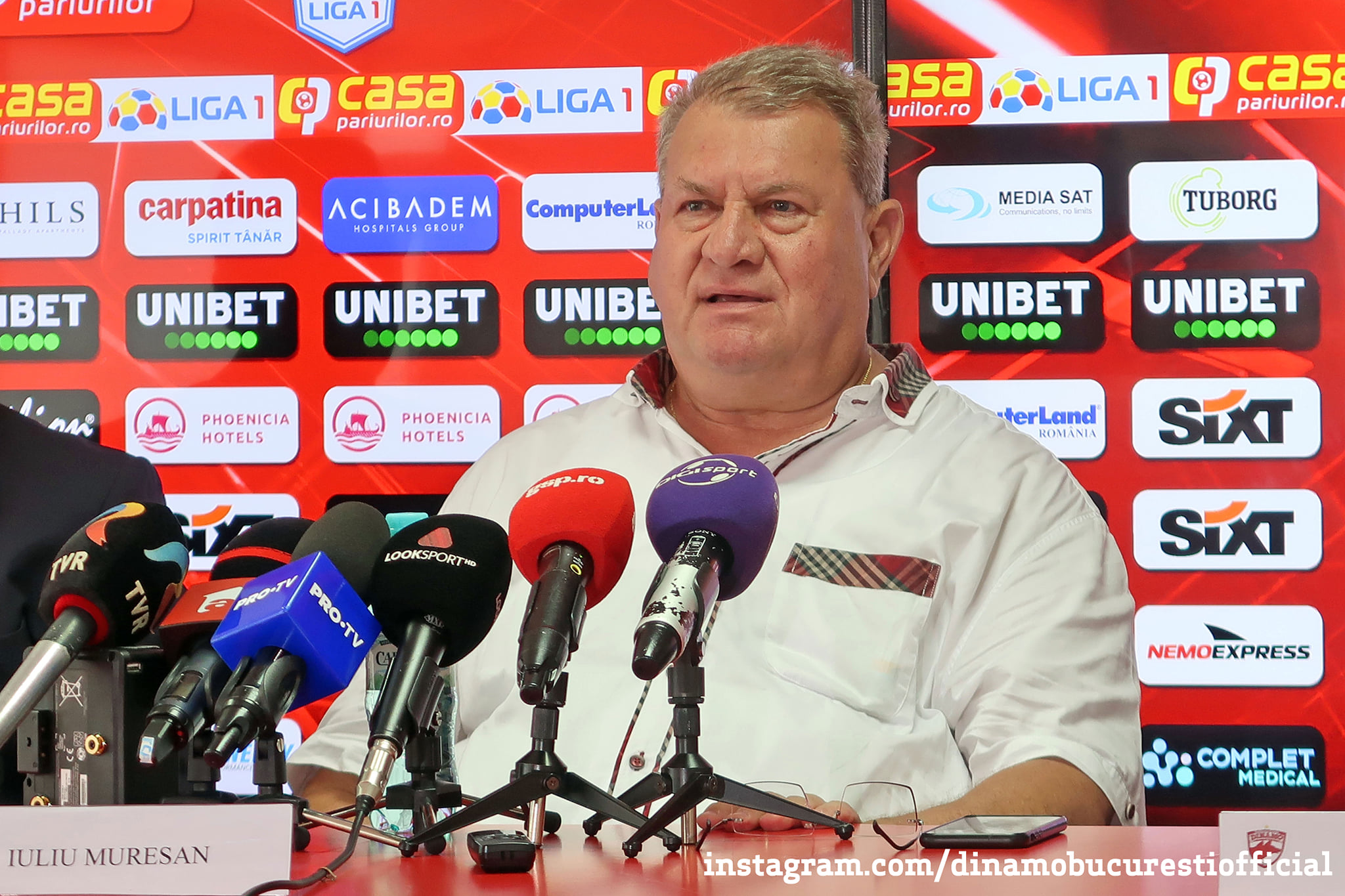 Iuliu Mureșan, Dinamo