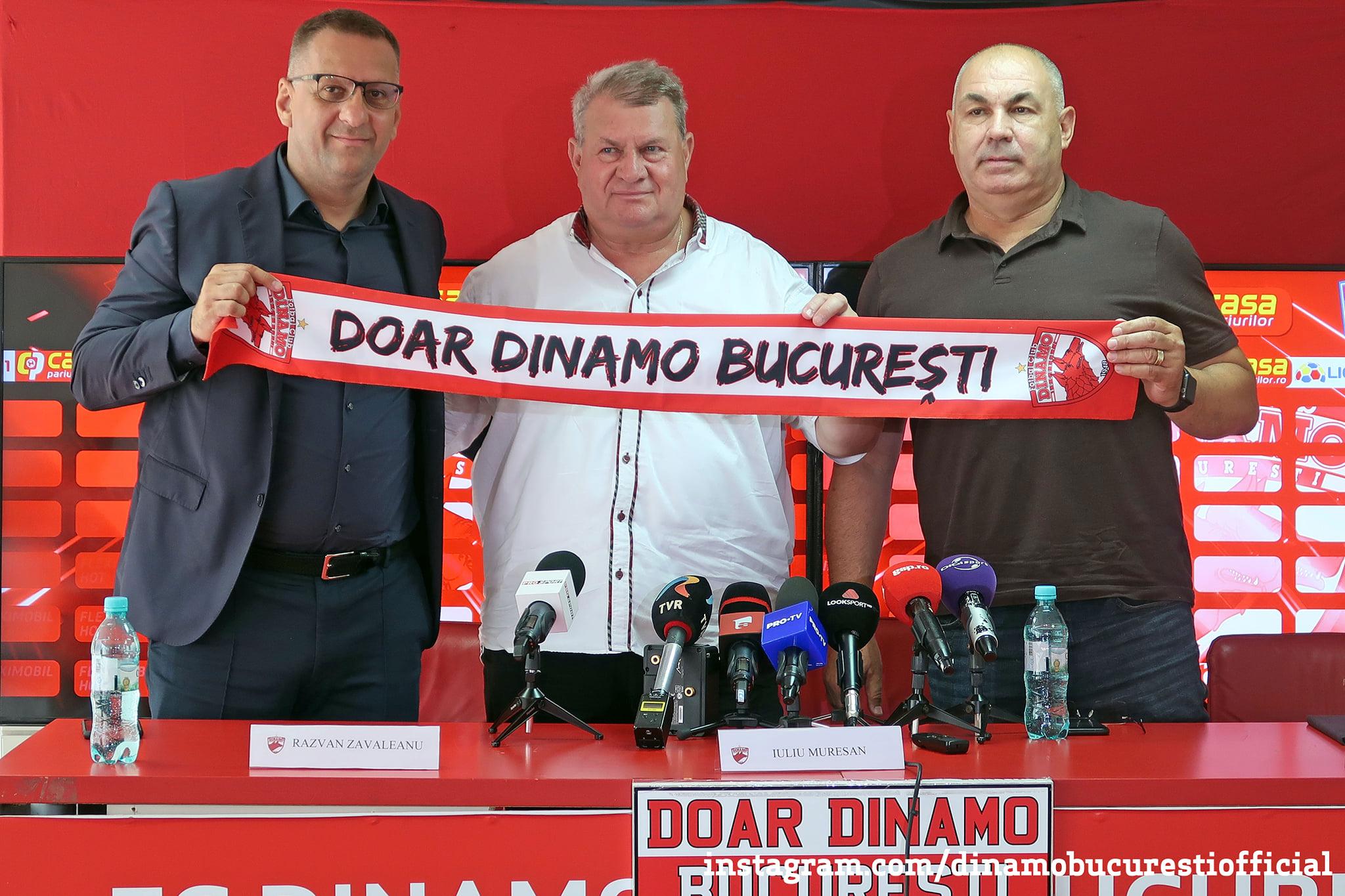 Iuliu Mureşan, prezentat oficial la Dinamo. sursa foto: fcdinamo.ro