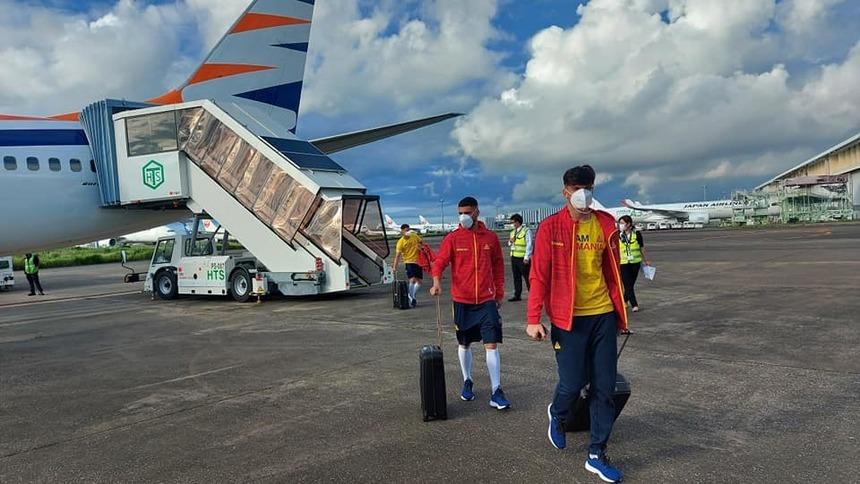 Fotbaliștii naționalei, la aterizarea în Japonia