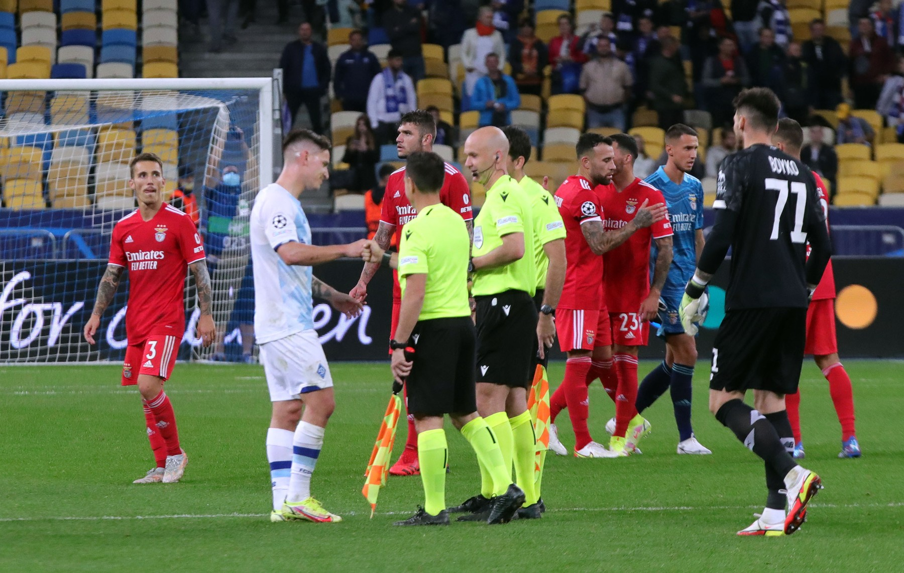 Dinamo Kiev - Benfica/Sursa foto: Profimedia Images